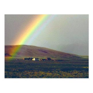 San Luis Valley After Rain Postcard