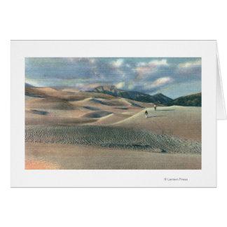 San Luis Valley, Colorado - Great Sand Dunes Card