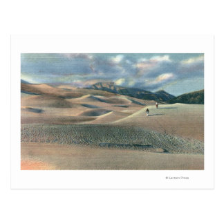 San Luis Valley, Colorado - Great Sand Dunes Postcard