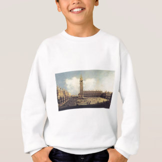 San Marco Square from the Clock Tower Facing... Sweatshirt