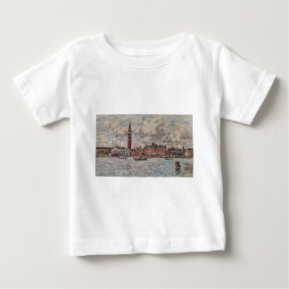 San-Marco square in Venice by Eugene Boudin Baby T-Shirt