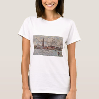 San-Marco square in Venice by Eugene Boudin T-Shirt