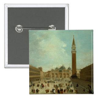 San Marco, Venice 2 Inch Square Button