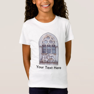 San Marco Winged Lion Stained Glass Window T-Shirt