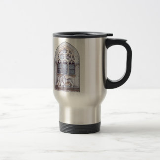 San Marco Winged Lion Stained Glass Window Travel Mug