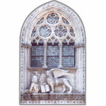San Marco Winged Lion Window Acrylic Cut Out