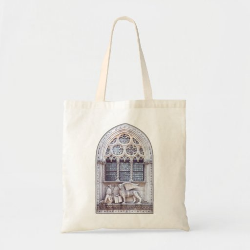 San Marco Winged Lion Window Budget Tote Bag
