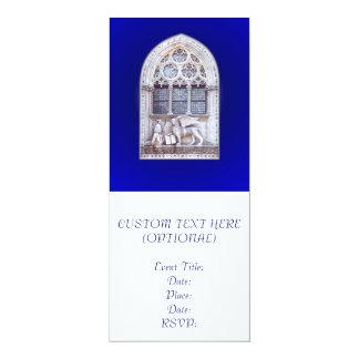 San Marco Winged Lion Window Card