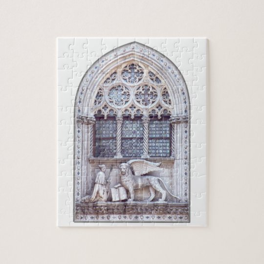 San Marco Winged Lion Window Jigsaw Puzzle