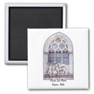 San Marco Winged Lion Window Magnet
