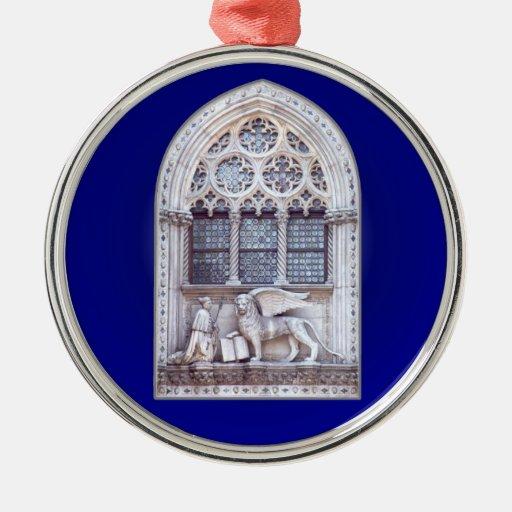 San Marco Winged Lion Window Ornaments