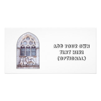 San Marco Winged Lion Window Photo Card