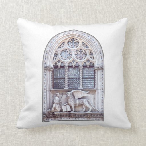 San Marco Winged Lion Window Pillow