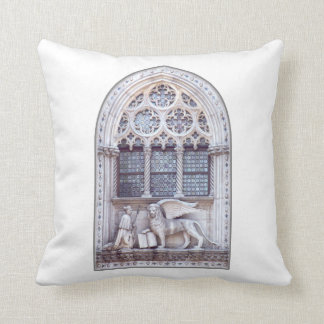 San Marco Winged Lion Window Throw Pillow