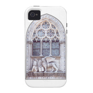 San Marco Winged Lion Window Vibe iPhone 4 Covers