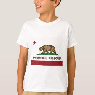 san marcos california state flag T-Shirt