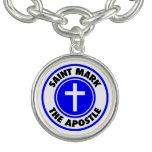 San Marcos el apóstol Pulsera Con Dije