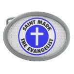 San Marcos el evangelista Hebillas Cinturon Ovales