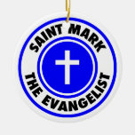 San Marcos el evangelista Ornamentos De Navidad
