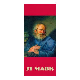 San Marcos - retrato de un evangelista Tarjeta Publicitaria A Todo Color