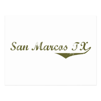 San Marcos  Revolution t shirts Post Cards