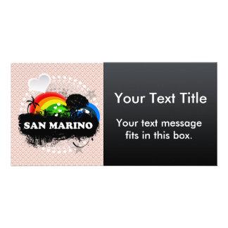 San Marino con sabor a fruta lindo Tarjeta Personal