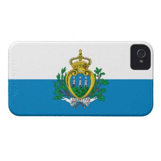 San Marino Flag Case-Mate iPhone 4 Case