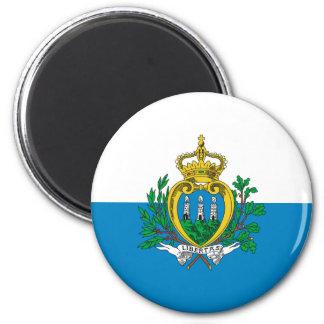 San Marino Flag Magnet