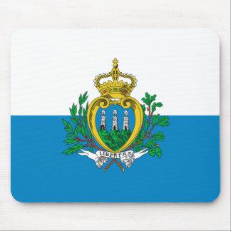 San Marino Flag Mousepad