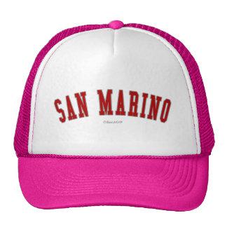 San Marino Gorras