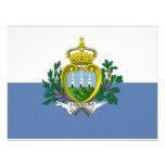 San Marino National Flag Personalized Invites