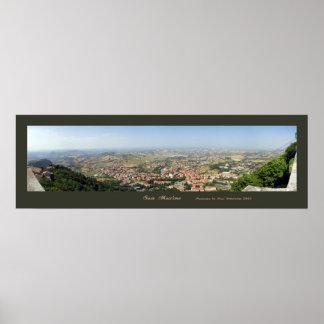San Marino Print