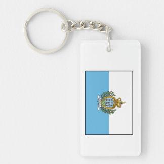 San Marino – Sammarinese Flag Keychain