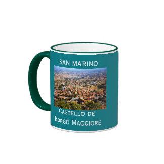 San Marino Scenic Coffee Mug