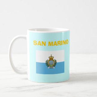 San Marino SM Country Code Mug