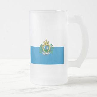 San Marino Taza Cristal Mate