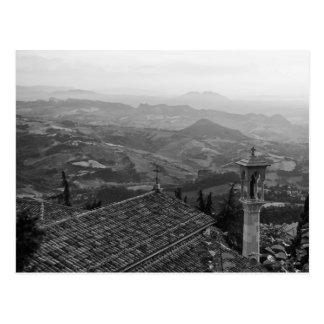 San Marino View Postcard