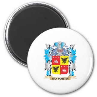 San-Martin Coat of Arms - Family Crest Magnets