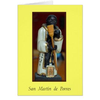 """""""San  Martín  de  Porres"""" Card"""