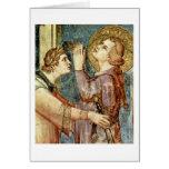 San Martín de rogación de Simone Martini Felicitación