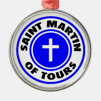 San Martín de viajes Adorno Navideño Redondo De Metal