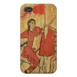 San Martín y el mendigo iPhone 4 Carcasa