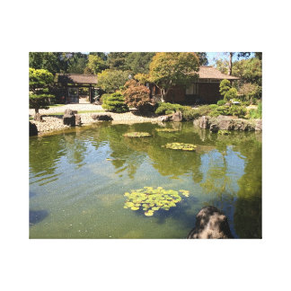 San Mateo Japanese Garden Canvas