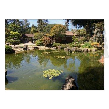 everydaylifesf San Mateo Japanese Garden Greeting Card