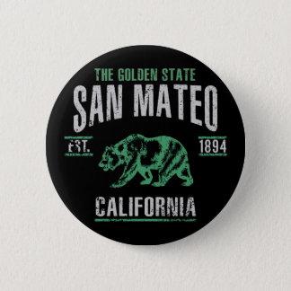 San Mateo Pinback Button