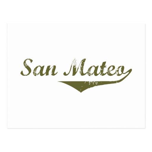 San Mateo  Revolution t shirts Post Card
