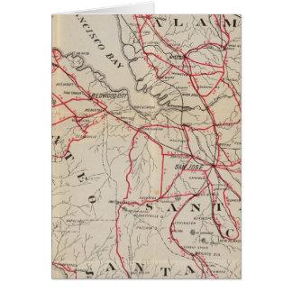 San Mateo, Santa Cruz, Santa Clara, Alameda Card