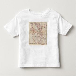 San Mateo, Santa Cruz, Santa Clara, Alameda Toddler T-shirt