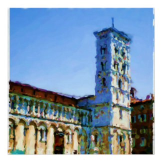 San Michele in Foro Lucca Posters