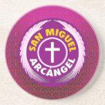 San Miguel Arcangel Beverage Coasters
